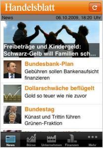 Handelsblatt_iPhone App_1